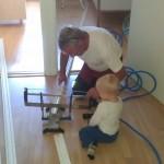 Lærer mye av å hjelpe Farfar:)