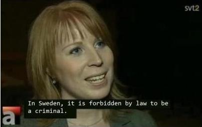 Svensk dame