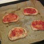 Brød med tacosaus