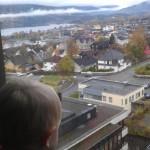 Fin utsikt over Lillehammer