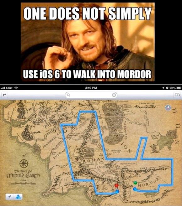 Enkelte ting MÅ man bruke Google Maps til..