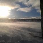 Ski, sol, snø og vind:) (Litt mye vind men...)