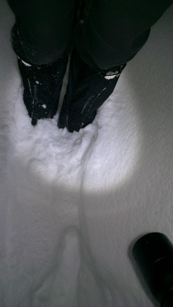 Snø som faen!