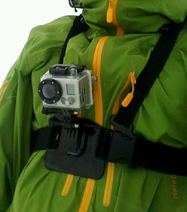 Gopro snowkite