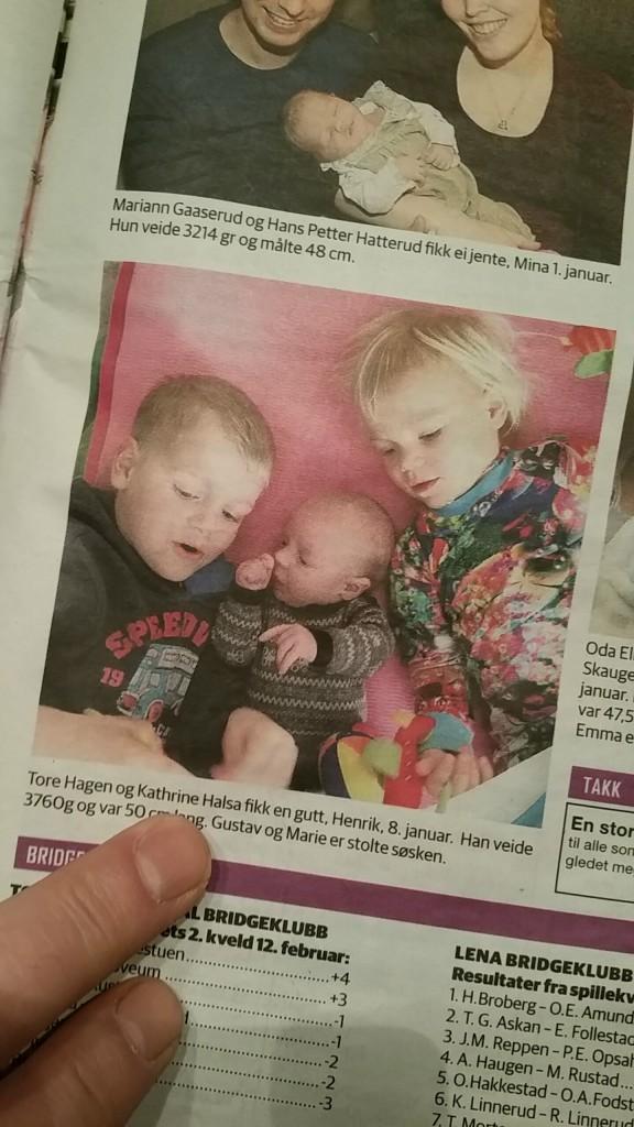 Ungene i avisa