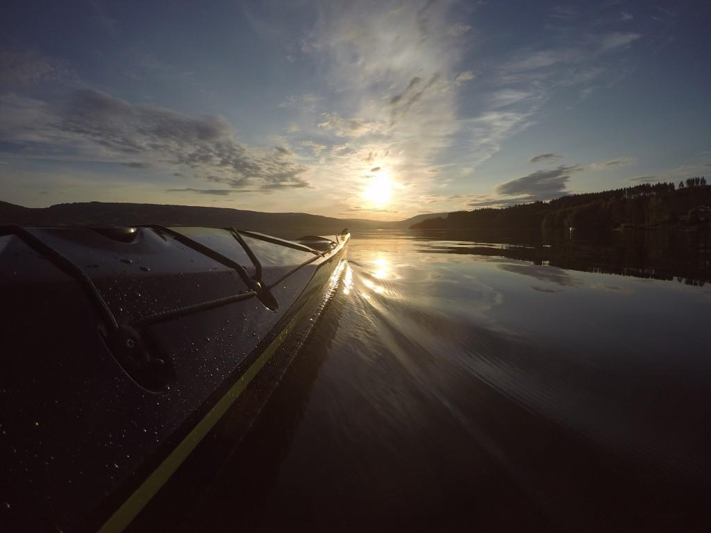 Padletur på Mjøsa