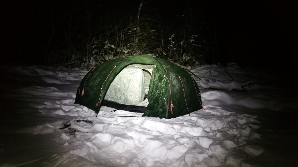 Fjällräven Akka Dome 3 winter tent