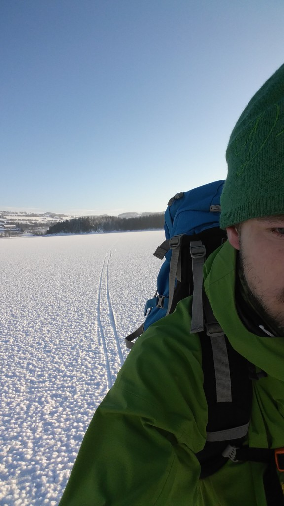 Ski på Mjøsa