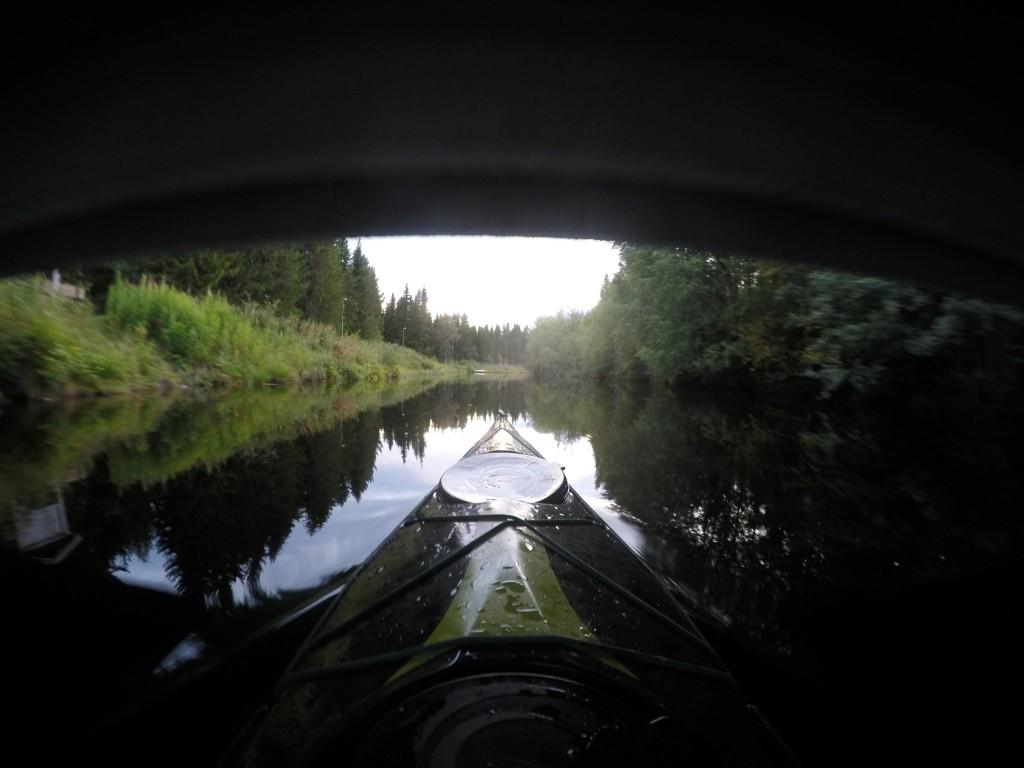 Padle under bro